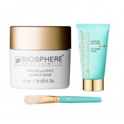 LOT MASQUE PRE DHEA+GOMMAGE+PINCEAU