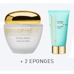 MASQUE ABSOLU+GOMMAGE+2 EPONGES
