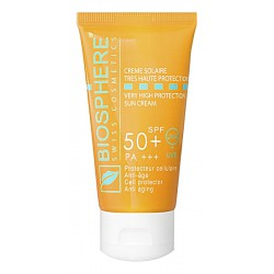 CREME SOLAIRE TRES HAUTE PROTECTION SPF